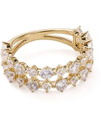 Nadri - Double-band Ring - Lyst