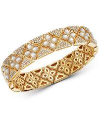 Roberto Coin - 18k Yellow Gold Venetian Princess Diamond Bracelet - Lyst