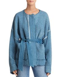 Elizabeth and James - Hayden Textured Kimono Jacket - Lyst