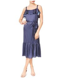 Betsey Johnson - Printed Midi Dress - Lyst