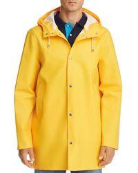 Stutterheim - Stockholm Hooded Raincoat - Lyst