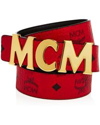 MCM - Collection Belt - Lyst