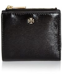 Tory Burch - Robinson Mini Patent Leather Wallet - Lyst