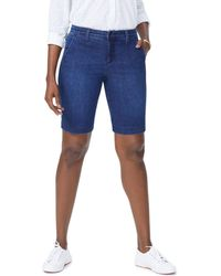 NYDJ - Denim Bermuda Shorts In Cooper - Lyst