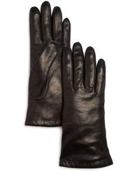 Bloomingdale's - Cashmere-lined Leather Gloves - Lyst