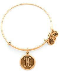 ALEX AND ANI - Initial Bangle - Lyst
