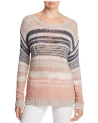Cupcakes And Cashmere - Reena Striped Jumper - Lyst