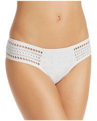 Robin Piccone - Clarissa Side Tab Bikini Bottom - Lyst
