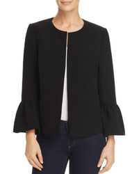 Vince Camuto - Open-front Bell-sleeve Jacket - Lyst