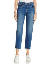 Levi's - Wedgie Straight Jeans In Lasting Impression - Lyst