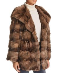 Maximilian - Sable Fur Jacket - Lyst