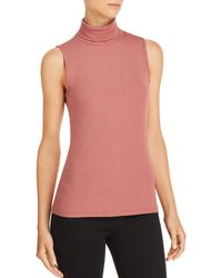 Theory - Wendel Sleeveless Turtleneck Top - Lyst
