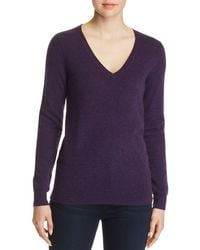 C By Bloomingdale's - V-neck Cashmere Sweater - Lyst