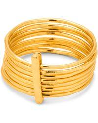 Gorjana - Josey Multi-layer Bar Ring - Lyst