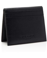Ted Baker - Roasty Leather Card Holder - Lyst