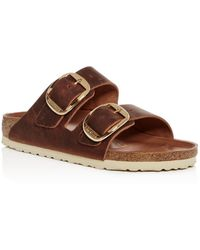 Birkenstock - Women's Arizona Big Buckle Slide Sandals - Lyst