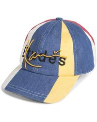 b22144308c403f Vans X Karl Lagerfeld Dugout Baseball Cap in Black for Men - Lyst
