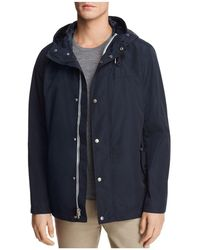 Cole Haan - Hooded Rain Jacket - Lyst