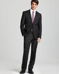 67598acf3 BOSS Hugo Boss Jewels/linus Step Regular Fit Suit in Gray for Men - Lyst