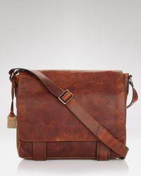 Frye - Logan Messenger Bag - Lyst