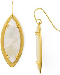 Stephanie Kantis - Leaf Earrings - Lyst