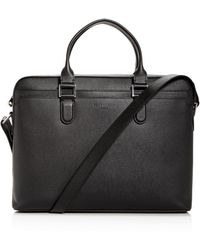 Longchamp - Racing Slim Leather Briefcase - Lyst
