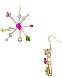 R.j. Graziano - Starburst Drop Earrings - Lyst