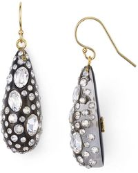 Alexis Bittar - Shimmer Dust Dewdrop Earrings - Lyst