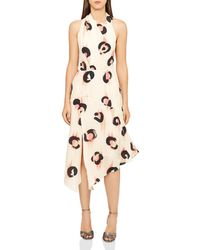 Reiss - Roya Printed Chiffon Dress - Lyst