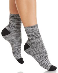 Hue - Super Soft Cropped Socks - Lyst