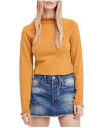 Free People - Needle And Thread Merino-wool Sweater - Lyst