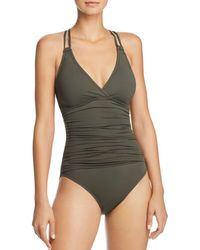 La Blanca - Island Underwire X Back One Piece Swimsuit - Lyst