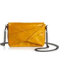 Halston Heritage Grace Small Bow Convertible Suede Crossbody Get To Buy Sale Online Latest Collections Sale Online Discount Pay With Paypal Outlet Newest Clearance Eastbay FjMY600n