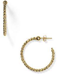 Officina Bernardi - Hoop Earrings - Lyst