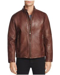 Marc New York - Emerson Moto Leather Jacket - Lyst