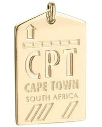 Jet Set Candy - Cpt Cape Town South Africa Luggage Tag Charm - Lyst