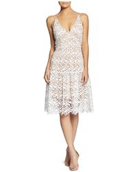 Dress the Population - Lily Lace Dress - Lyst
