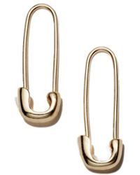 Kris Nations - Safety Pin Earrings - Lyst