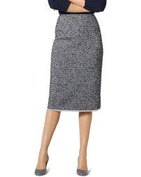 L.K.Bennett - Char Tweed Pencil Skirt - Lyst