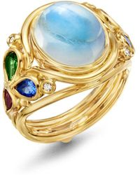 Temple St. Clair - 18k Yellow Gold Classic Oasis Moonstone - Lyst