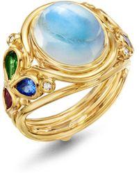 Temple St. Clair - Diamond & Multi Gemstone Ring - Lyst