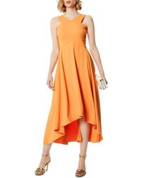 Karen Millen - High/low Midi Dress - Lyst