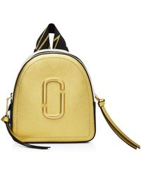 Marc Jacobs - Mini Pack Shot Color-block Backpack - Lyst