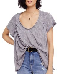 Free People - Nori Relaxed Tee - Lyst