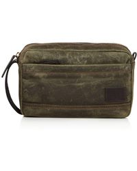 3c341e4ee4 Saddlers Union Stripe Detail Toiletry Bag in Brown for Men - Lyst