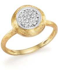 Marco Bicego - 18k White And Yellow Gold Jaipur Ring With Diamonds - Lyst