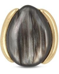 Robert Lee Morris - Oval Stone Cocktail Ring - Lyst