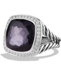 David Yurman - Albion Ring With Lavender Amethyst And Diamonds - Lyst