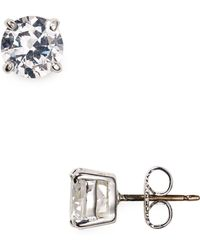 Carolee - Small Cubic Zirconia Stud Earrings - Lyst
