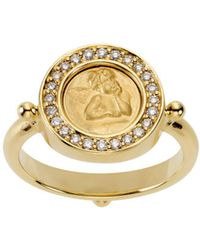 Temple St. Clair - Temple St. Clair Diamond Pave Ring - Lyst